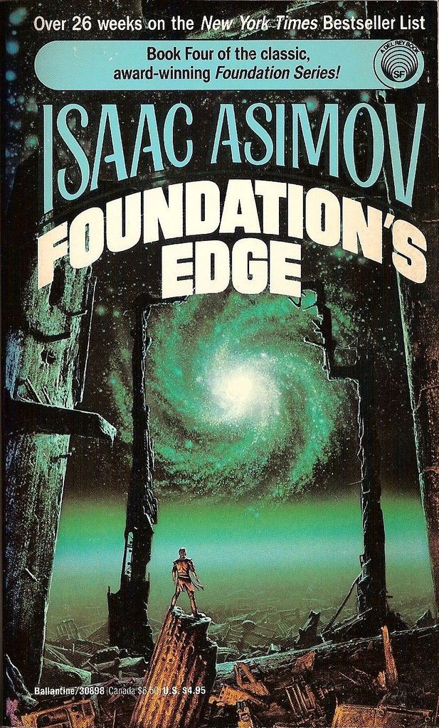 Cover for blog entry about Isaac Asimov's Foundation stories